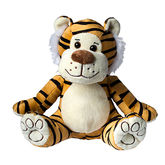 Plush tiger Lucy